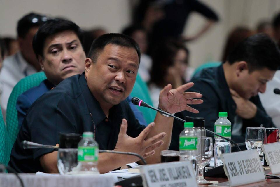 MANIFESTATION OF SUPPORT OF SENATOR JV EJERCITO  ON PROPOSED SENATE RESOLUTION NO. 457