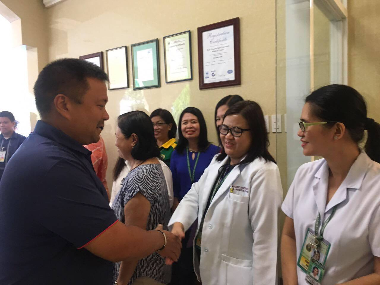 Senator JV Goes To Iloilo City For A Consultation On Healthcare Facilities and Services