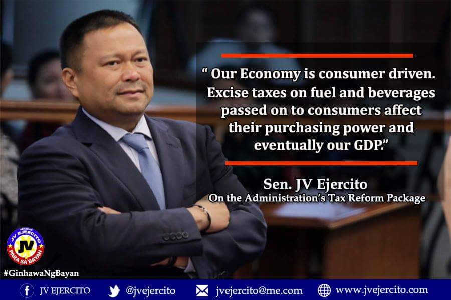 Sen. JV On The Administration's Tax Reform Package