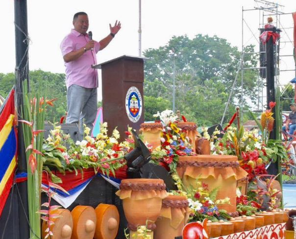 Senator JV Joins the 18th T'nalak Festival and the 51st Founding Anniversary of the Province of South Cotabato.