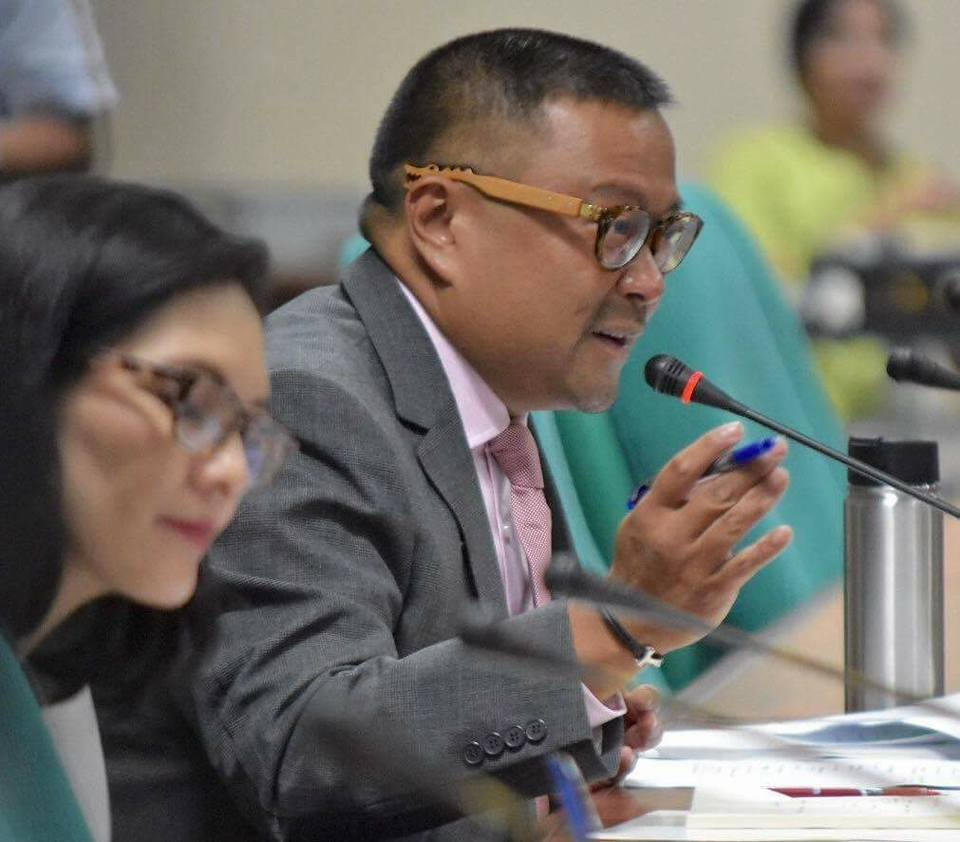Sen. JV During the Senate Committee on Health and Demography Hearing on the Proposed Universal Healthcare Act of 2016.