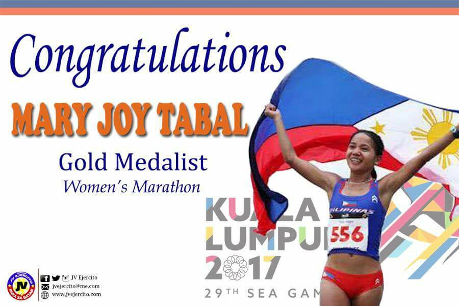 Congratulations, Mary Joy Tabal
