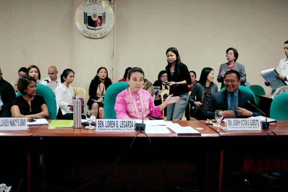 Sen. JV Ejercito Senate Activities