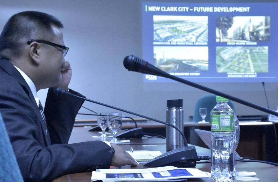 Sen. JV during the hearing on the proposed 2018 budgets of the NYC, Cooperative Development Authority , MTRCB, Bases Conversion Development Authority  and the Subic Bay Management Authority .
