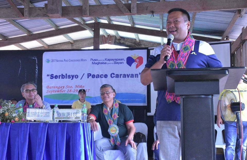Sen. JV Attends Motorcross Competition and Peace Caravan in Agusan Del Sur