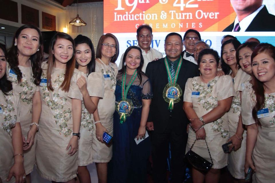 Sen. JV Invited as Guest Speaker at the 19th and 42nd Induction and Turnover Ceremonies