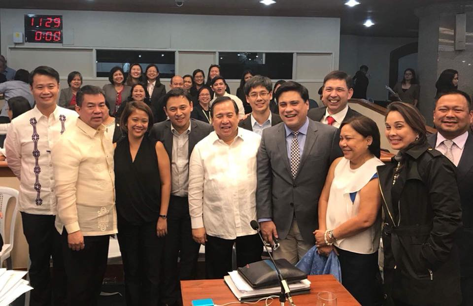 After 12 hours of deliberation on Tax Reform for Acceleration and Inclusion (TRAIN) the period of amendments is finally over.