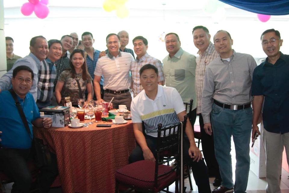 Sen. JV Ejercito, guest at PMA Maringal Class of 1988 Christmas Party.