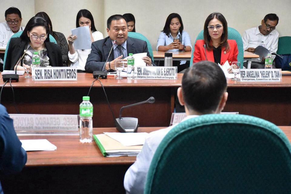 Presiding over today's meeting as the chairperson of the Senate Health Committee to review the Community-Based Mental Health Care Facilities in relation to the Mental Health Bill.