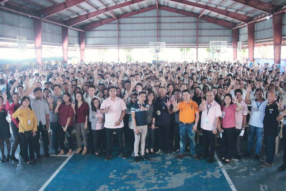 Senator JV's Youth Economic Forum at Cavite State University