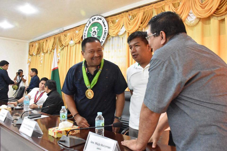 Its a historic visit to MILF Headquarters in Camp Darapanan!