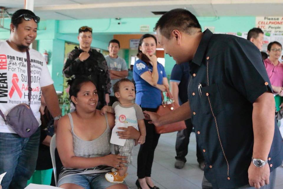 SENATOR JV'S MEDICAL MISSION