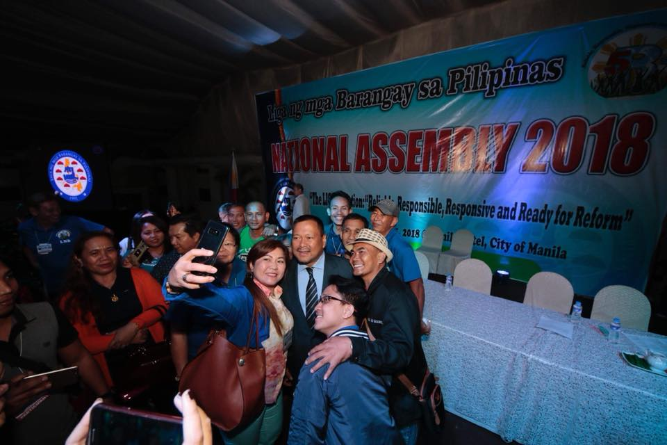 LIGA ng mga BARANGAY  NATIONAL ASSEMBLY 2018