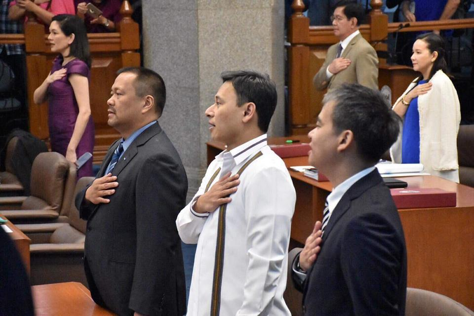 IN PHOTOS 📷: Sen. JV Ejercito Senate Activities – 19 March 2018