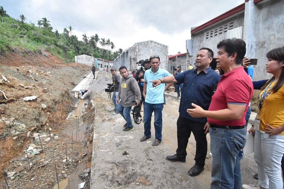INSPECTION OF HOUSING PROJECTS FOR YOLANDA VICTIMS 🏘🏡🏚