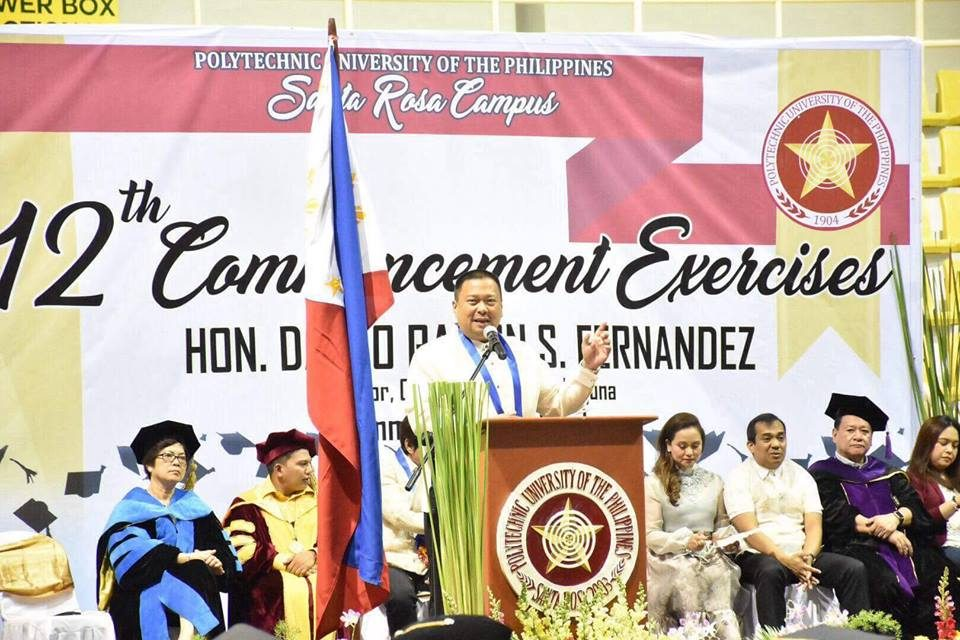 POLYTECHNIC UNIVERSITY of the PHILIPPINES  Commencement Exercises 👩🏻🎓👨🏻🎓
