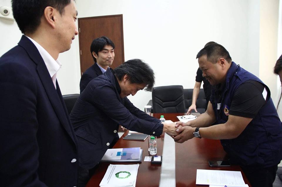 MEETING WITH JAPAN INTERNATIONAL COOPERATION AGENCY OFFICIALS