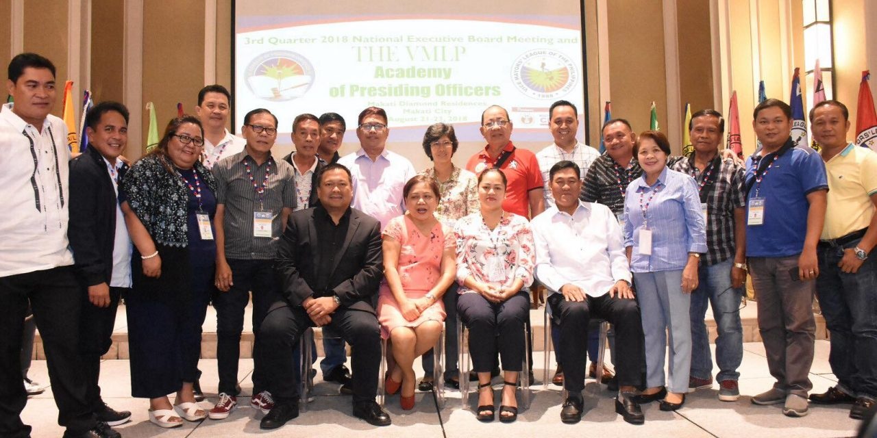 Vice Mayors' League of the Philippines Academy of Presiding Officers National Executive Board Meeting