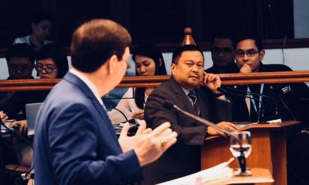 Sen. JV Ejercito Senate Activities – 03 September 2018