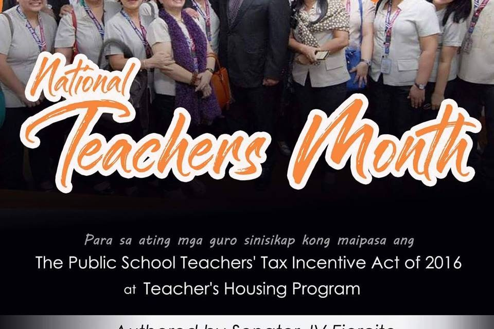 National Teachers Month celebration