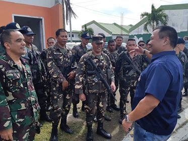 OCULAR INSPECTION of AFP-PNP HOUSING PROJECT in BACOLOD CITY