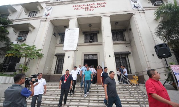 FLAG CEREMONY and CITY JAIL VISIT at MALOLOS CITY, BULACAN