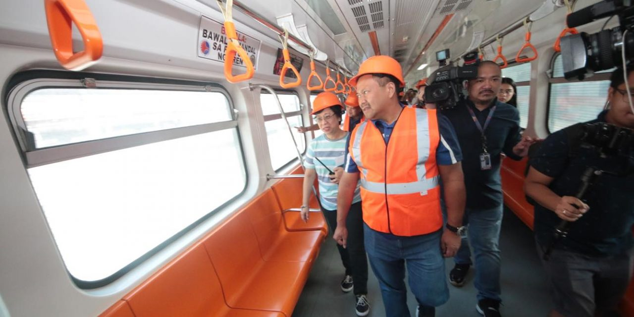 Took PNR train from Tutuban after meeting with PNR officials