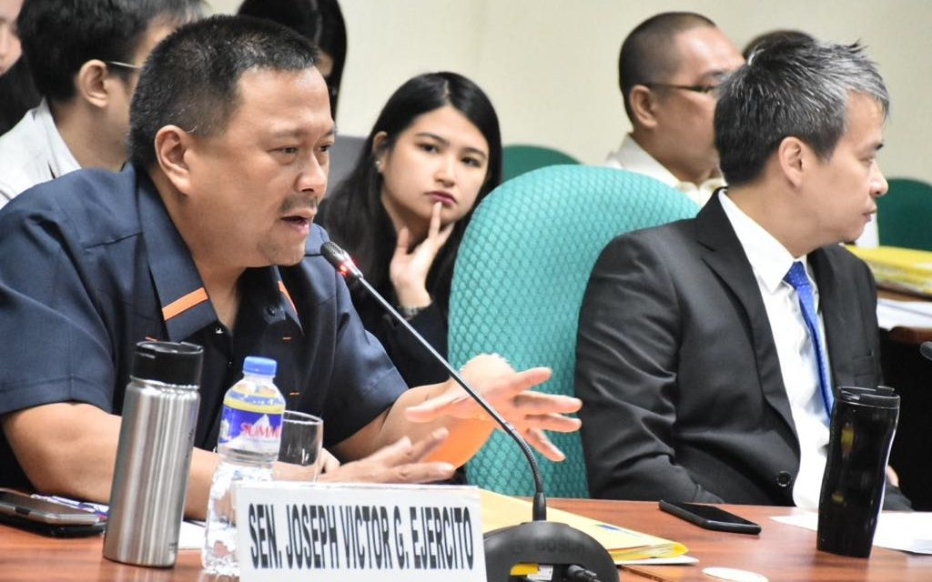 Sen. JV Ejercito Senate Activities – 24 September 2018