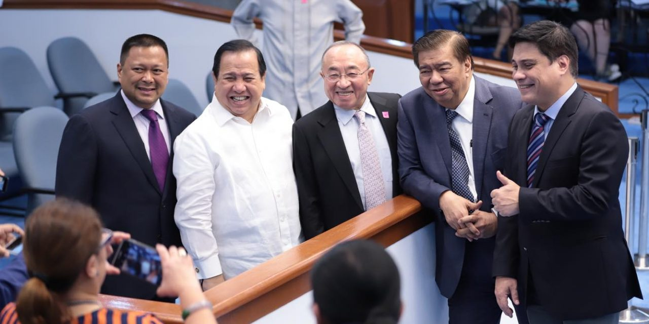 SJVE sa SENADO – 3rd Regular Session.