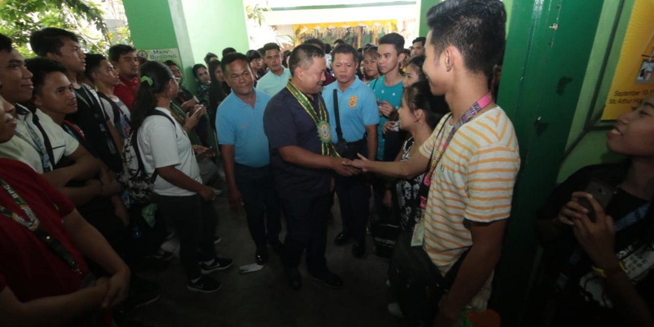 ECONOMIC FORUM in BULACAN POLYTECHNIC COLLEGE