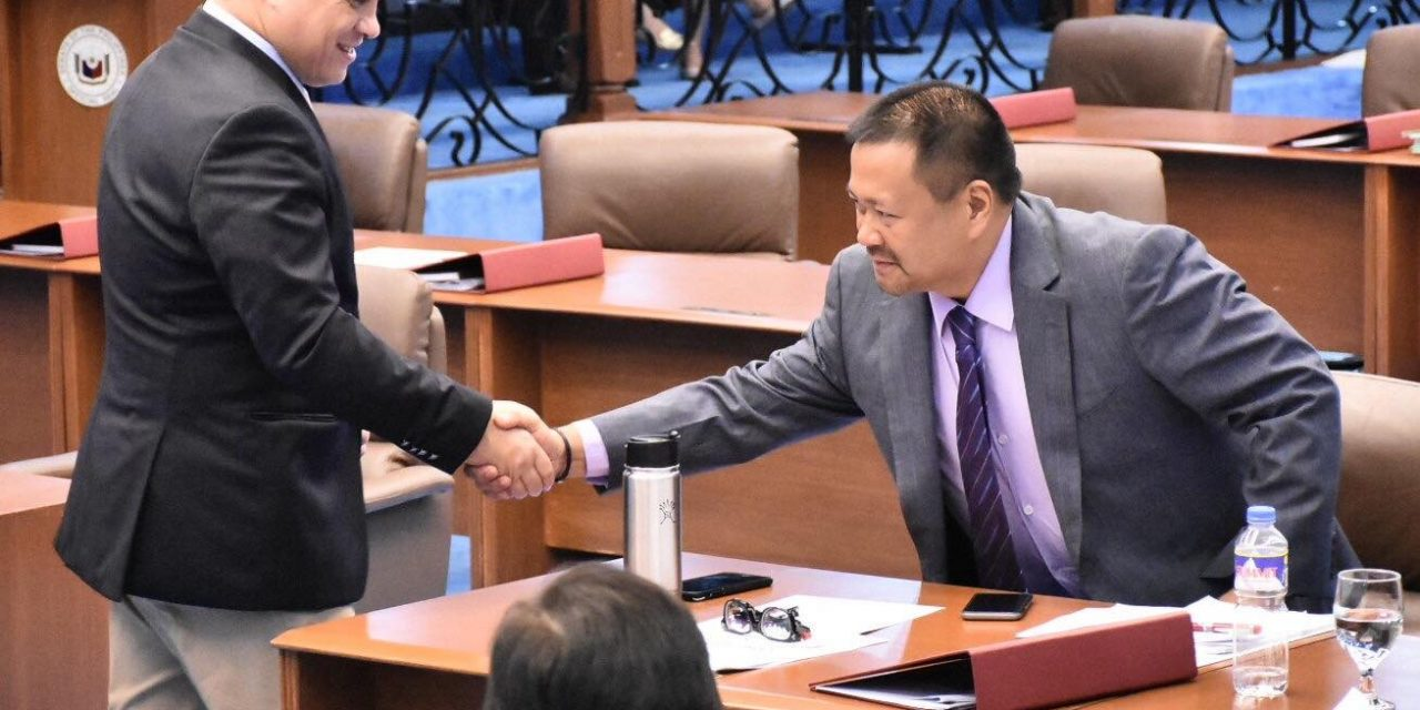 Senator JV Ejercito Senate Activities – 02 October 2018.