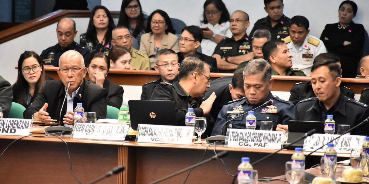 DEPARTMENT of NATIONAL DEFENSE BUDGET HEARING