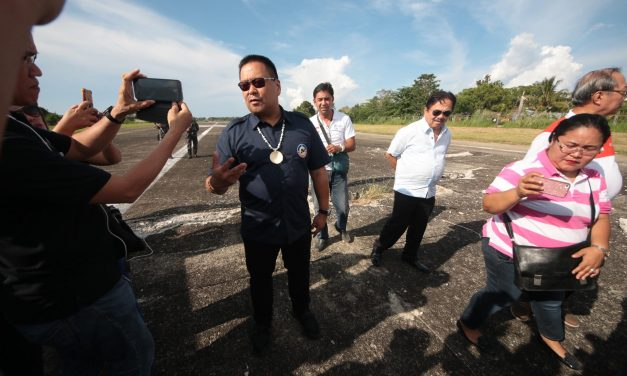 SURIGAO AIRPORT INSPECTION.