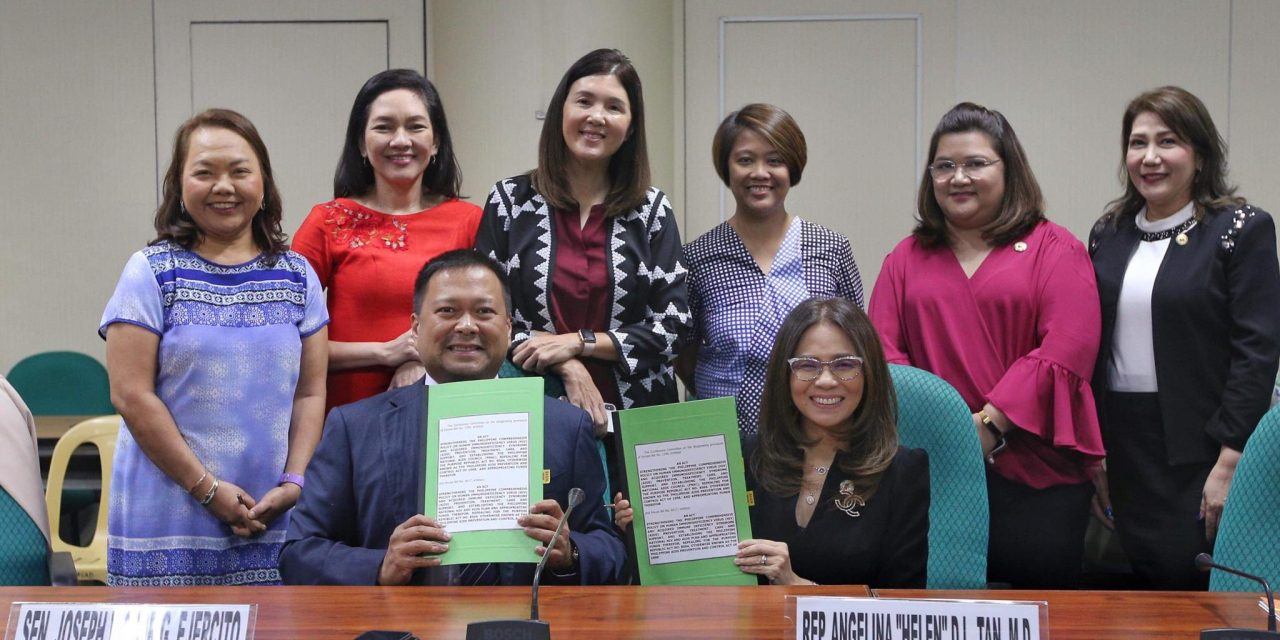 SIGNING of BICAMERAL REPORT on DHSUD