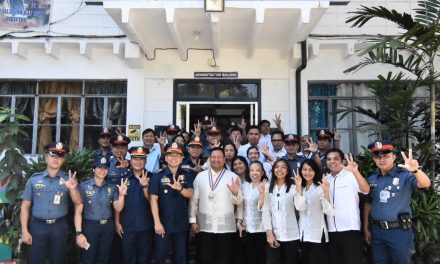PNP NATIONAL CAPITAL REGIONAL POLICE OFFICE FLAG RAISING.