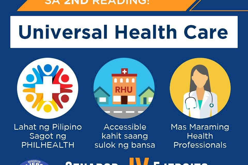 Universal Health Care, aprubado na sa 2nd reading!