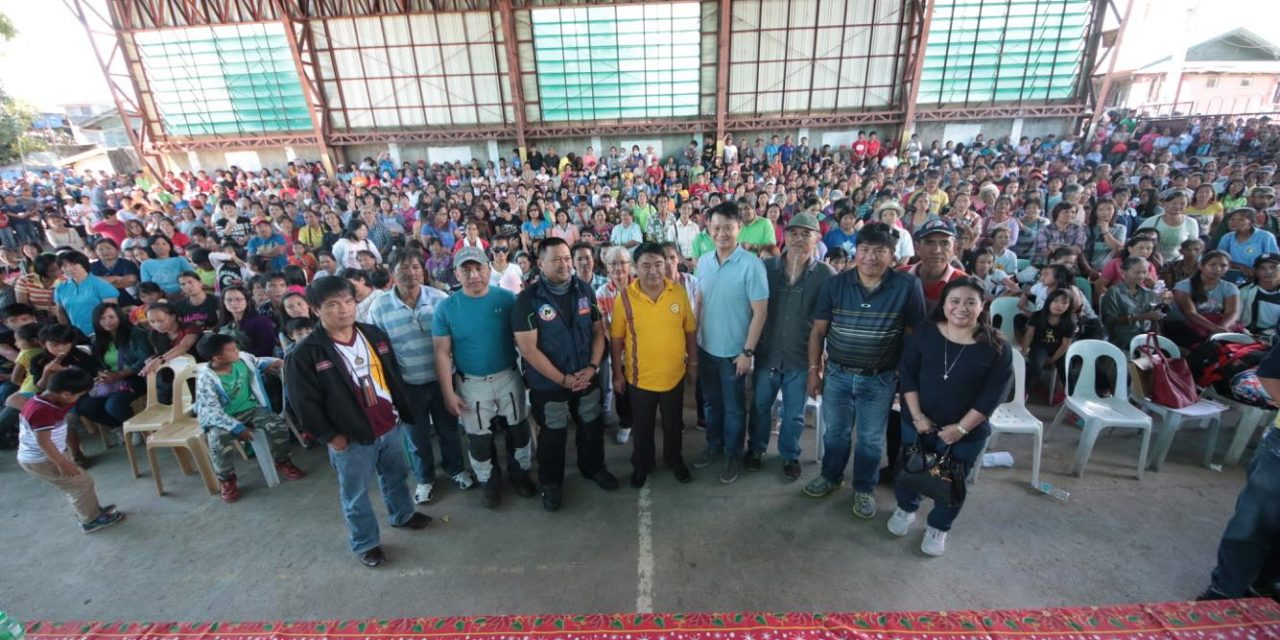 TURN-OVER of NHA ASSISTANCE to ITOGON, BENGUET