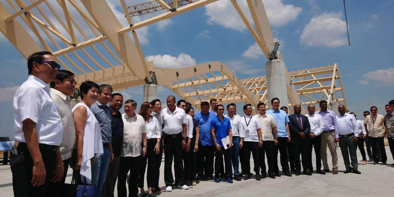 SITE INSPECTION OF THE CLARK INTL. AIRPORT EXPANSION PROJECT.