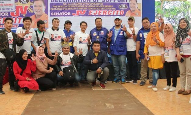 DECLARATION OF SUPPORT – ALLIANCE OF COOPERATIVES FOR PEACE AND DEVELOPMENT OF LANAO DEL SUR