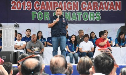 HNP CAMPAIGN CARAVAN for SENATORS.