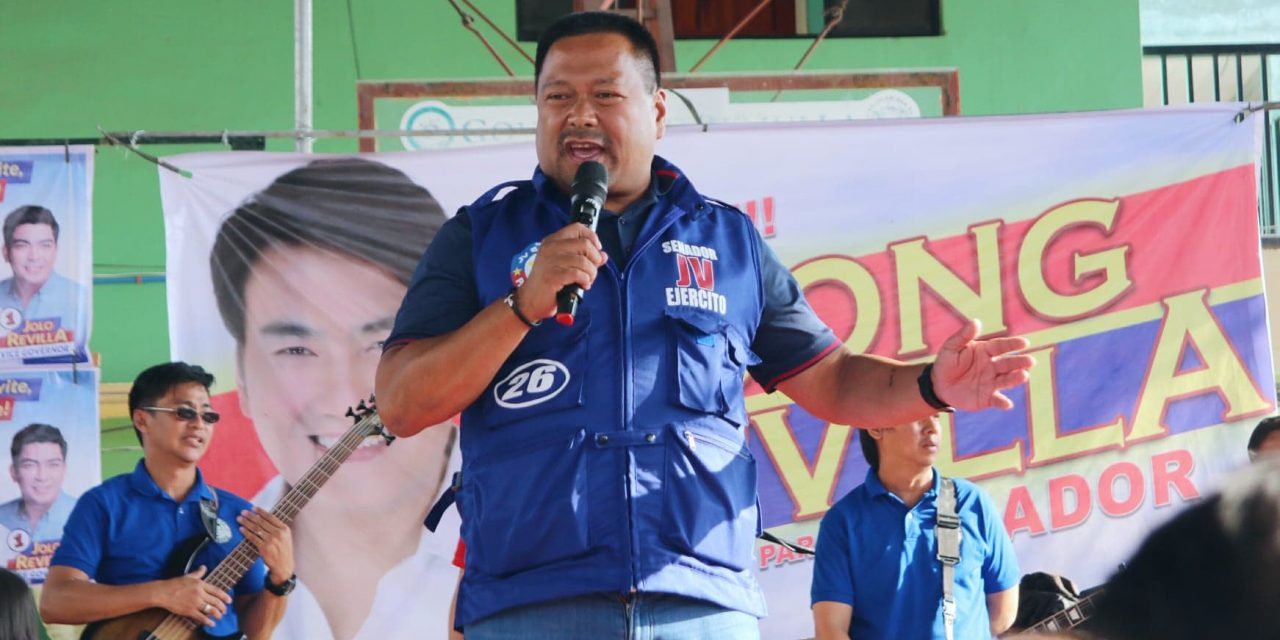 Sen. JV Ejercito urges OFWs to get vaccinated against measles, other diseases