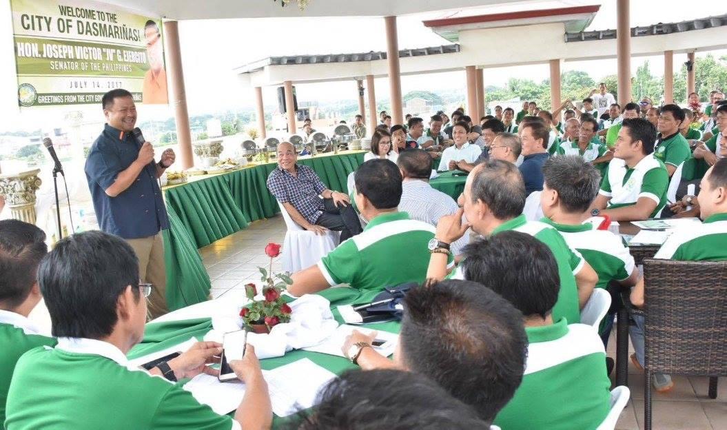 Sen. JV Visits the Pagamutan ng Dasmariñas, Cavite