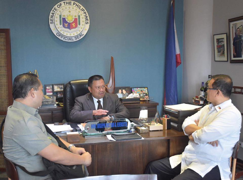 Courtesy Call For Our Newly Appointed Housing and Urban Development Coordinating Council Chair Ret. General Eduardo Del Rosario