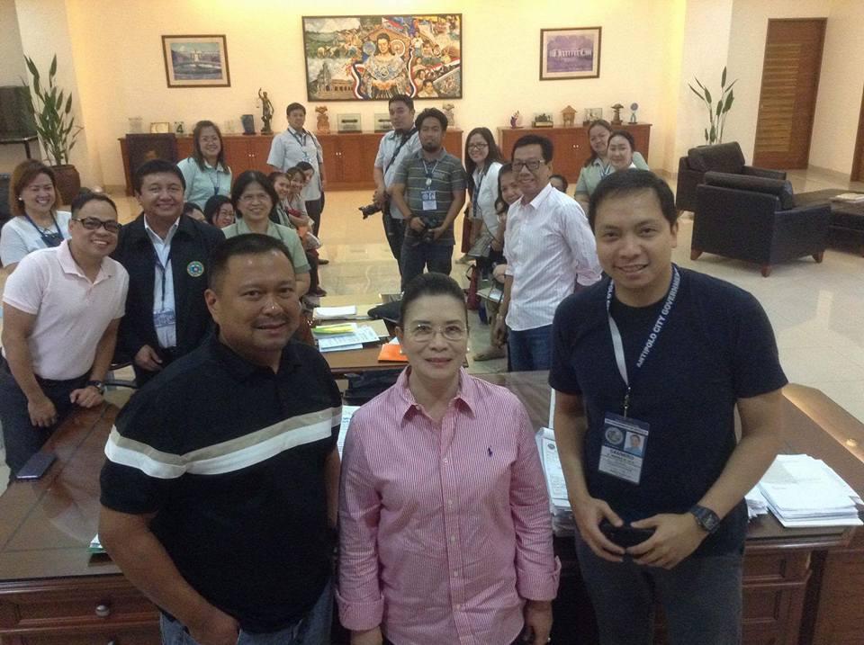 Sen. JV Visited Rizal Province.