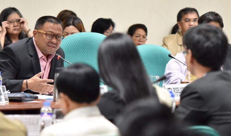 Sen. JV During the Senate Senate Committee on Ways and Means Hearing on the Proposed Tax Reform for Acceleration and Inclusion of Petroleum Products.