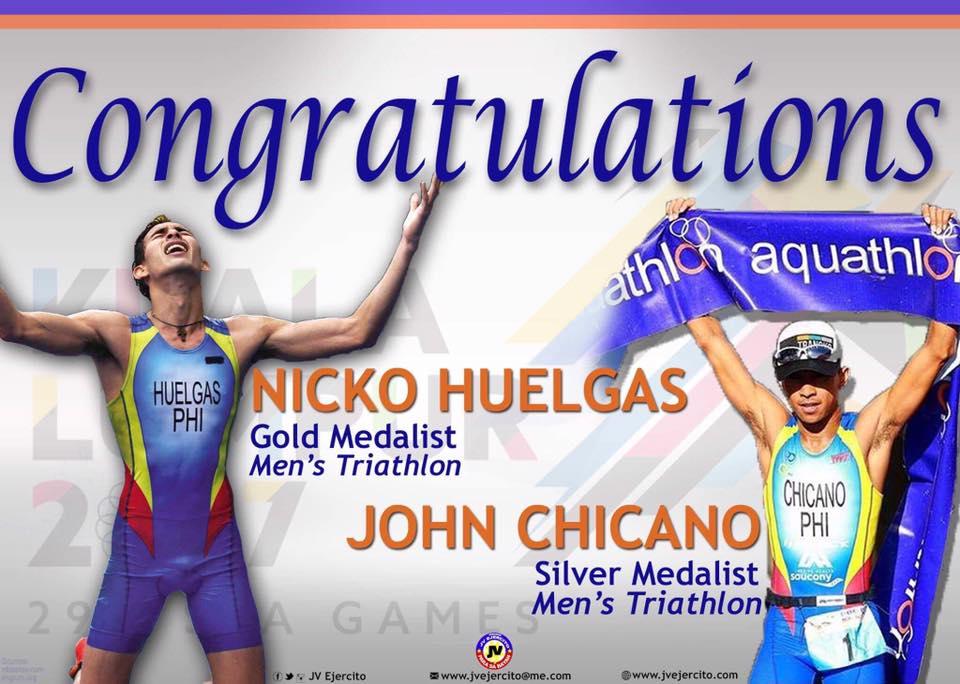 Congratulations, Nicko Huelgas and John Chicano.
