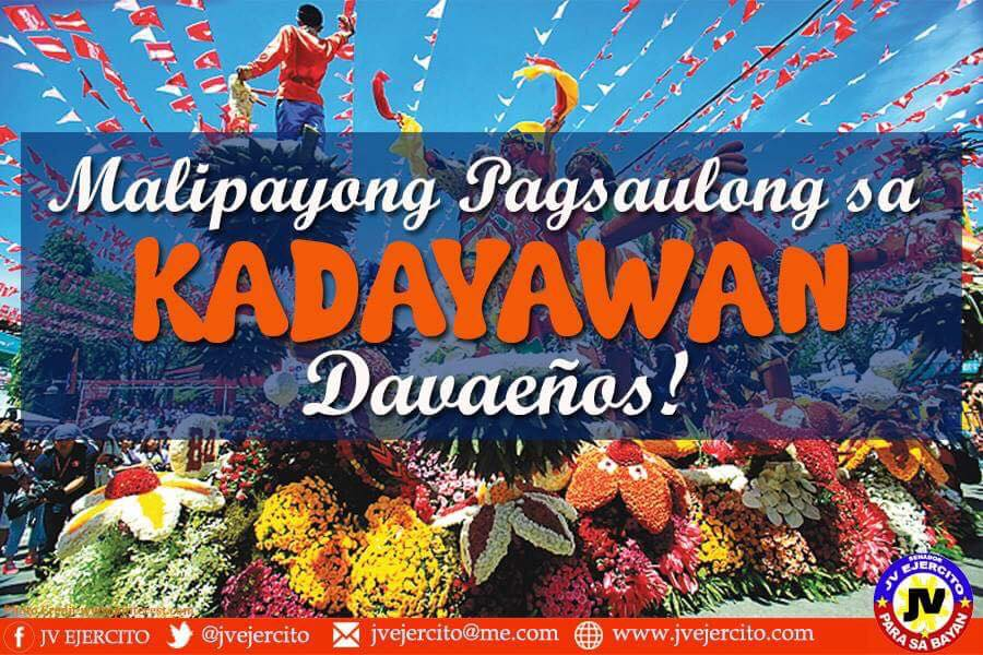HAPPY 32ND KADAYAWAN FESTIVAL!