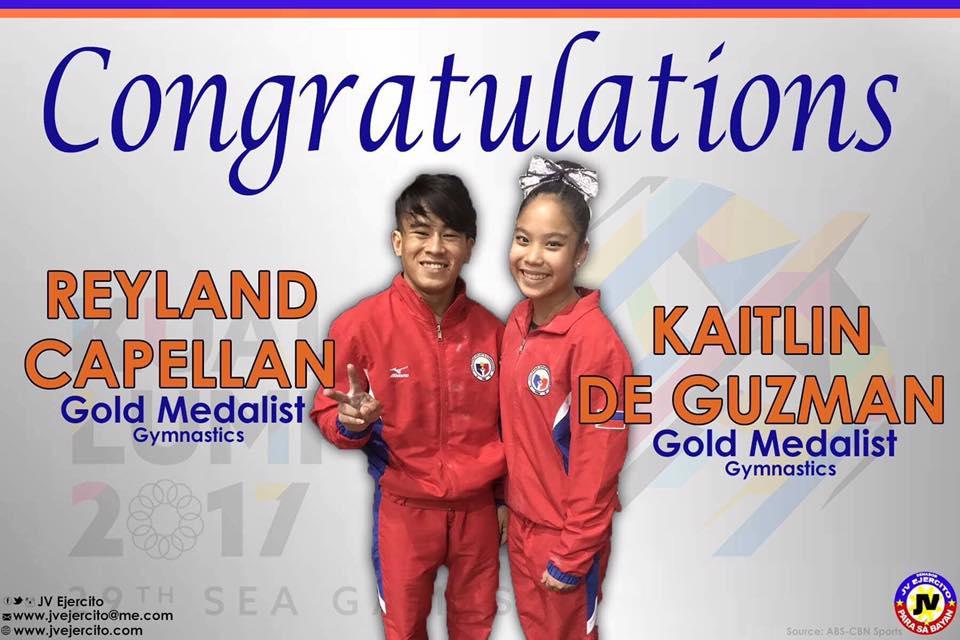 Congratulations Reyland Capellan and Kaitlin de Guzman