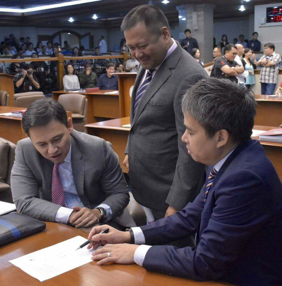 Sen. JV Ejercito Senate Activities