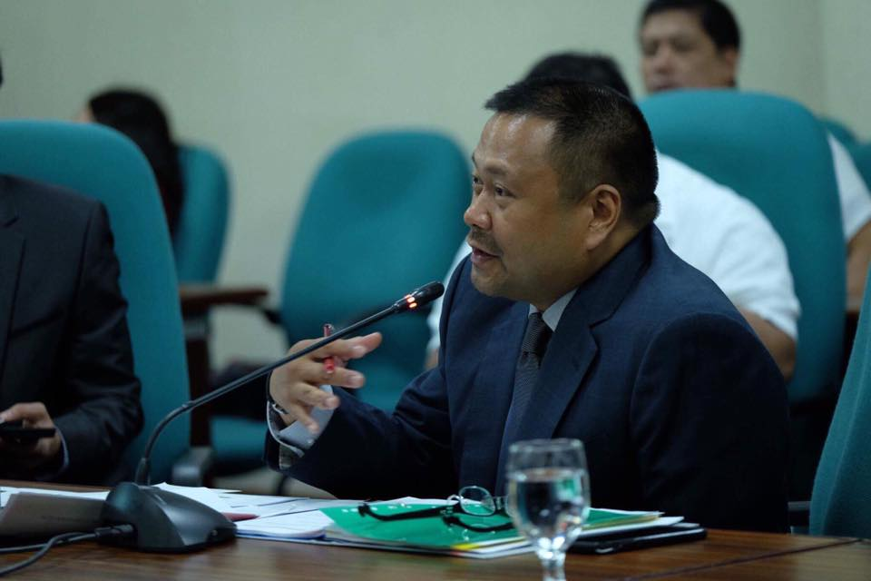 Sen. JV During the Hearing on the Proposed 2018 Budgets of the Authority of the Freeport Area of Bataan